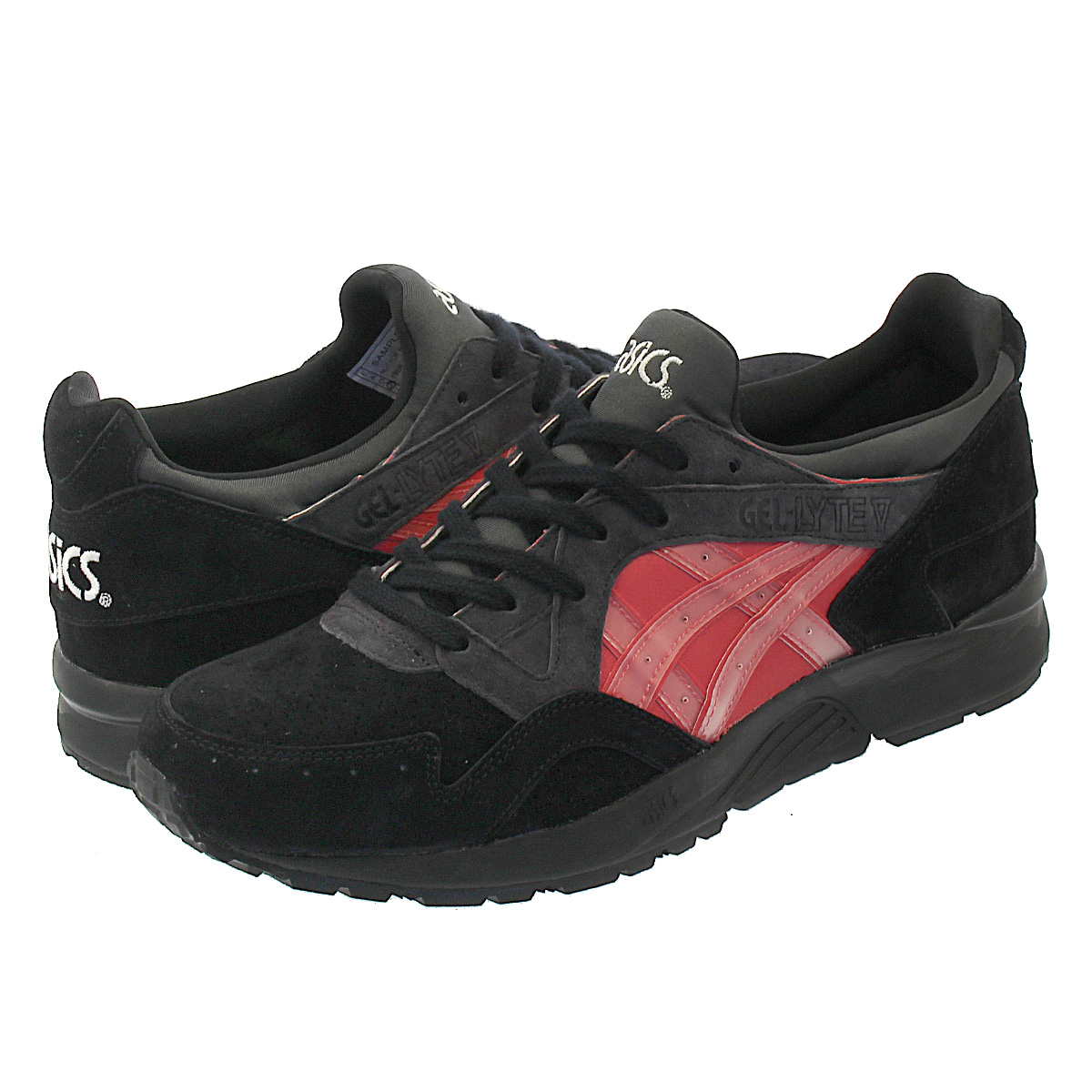 "【スーパーSALE】ASICS Tiger GEL-LYTE V ""KLSHOGUN"" for KICKS LAB. 【KICKSLAB. x ASICS Tiger】 アシックス ゲルライト 5 BLACK/CLASSIC RED"