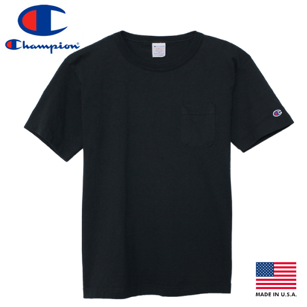 【送料無料】CHAMPION T-1011 US T-SHIRT 【MADE IN U.S.A.】 チャンピオン T-1011 US Tシャツ NAVY