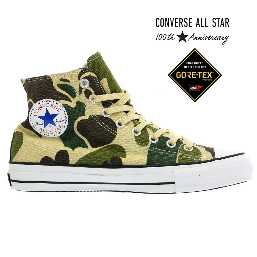fc3356ddf3b981 CONVERSE ALL STAR 100 GORE-TEX PT HI Converse all-stars 100 Gore-Tex PT HI  OLIVE