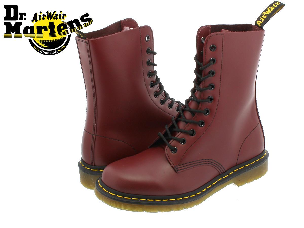 Dr.Martens 10 EYE BOOT ORIGINALS 1490 R11857600 ドクターマーチン 10アイレット ブーツ オリジナルズCHERRY