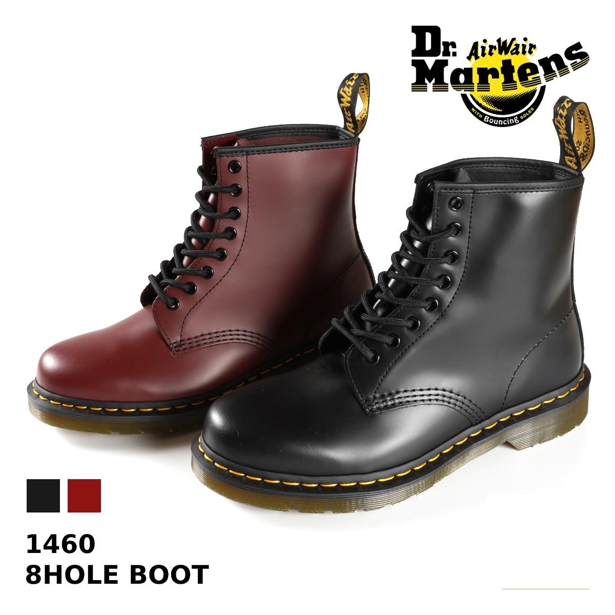 Dr.Martens 8HOLE BOOT 1460 ドクターマーチン 8ホール ブーツ BLACK(R11822006) / CHERRY RED(R11822600)