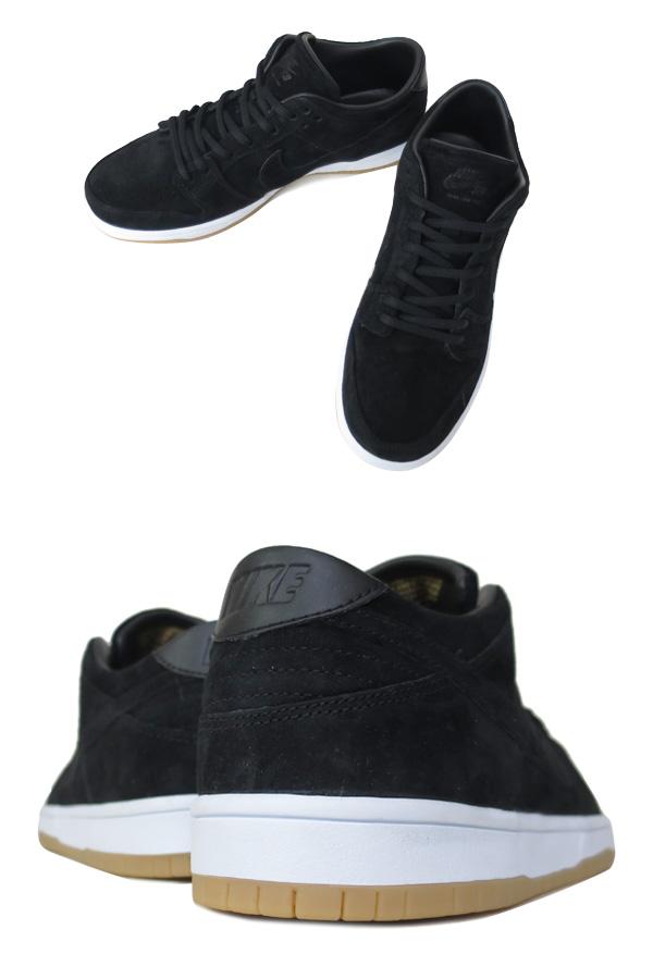 NIKE DUNK LOW ELITE SB Nike Dunk Elite Pro SB BLACK/WHITE GUM/LIGHT BROWN
