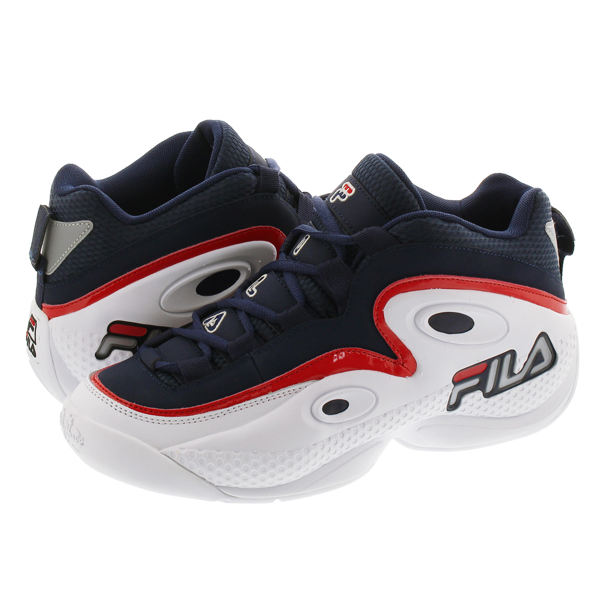 FILA GRANT HILL 3 フィラ グラント ヒル 3 NAVY/WHITE/RED f0478-0422