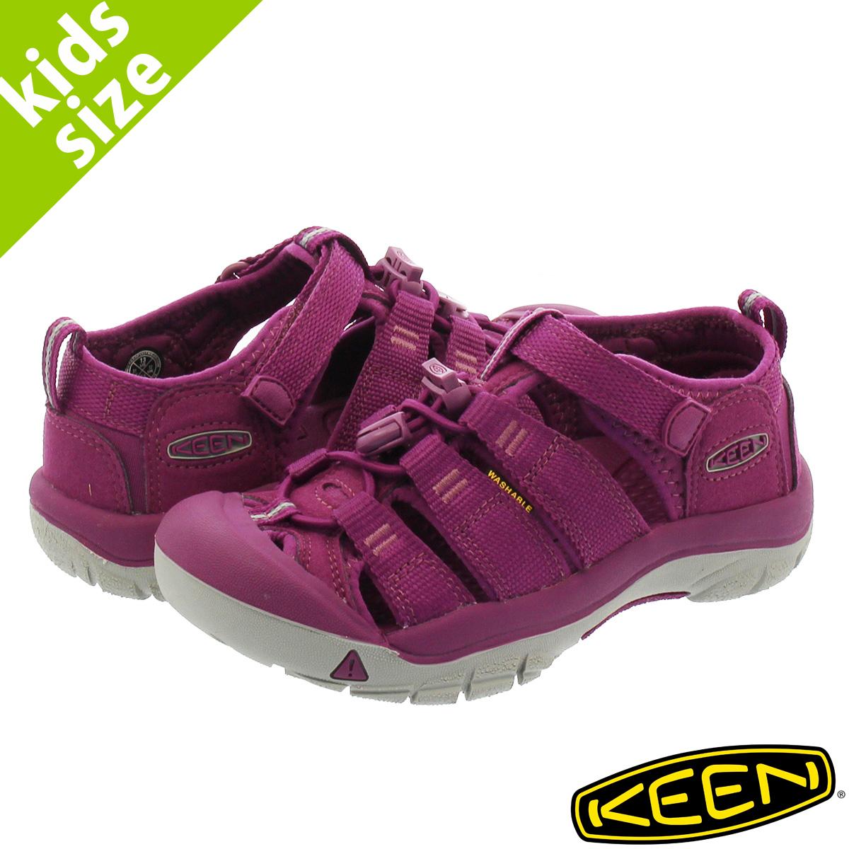 42c3d95f9c06 LOWTEX BIG-SMALL SHOP  KEEN KIDS NEWPORT H2 Kean kids Newport GRAPE ...