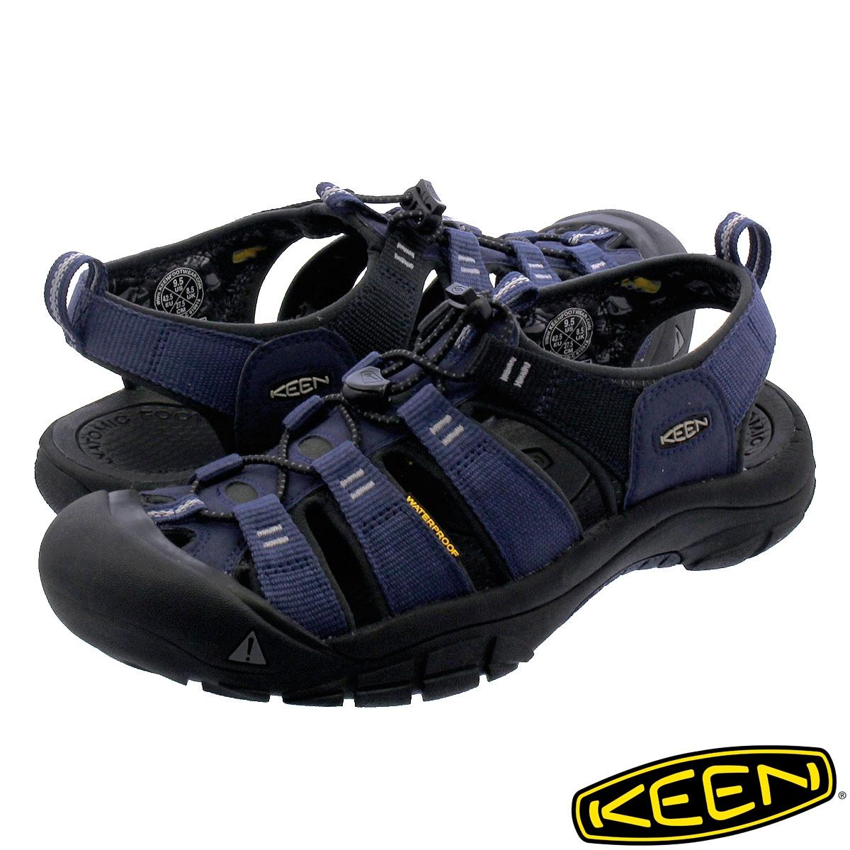 KEEN MEN NEWPORT H2 【メンズ】 キーン メン ニューポート H2 DRESS BLUES/STEEL GREY 1018940