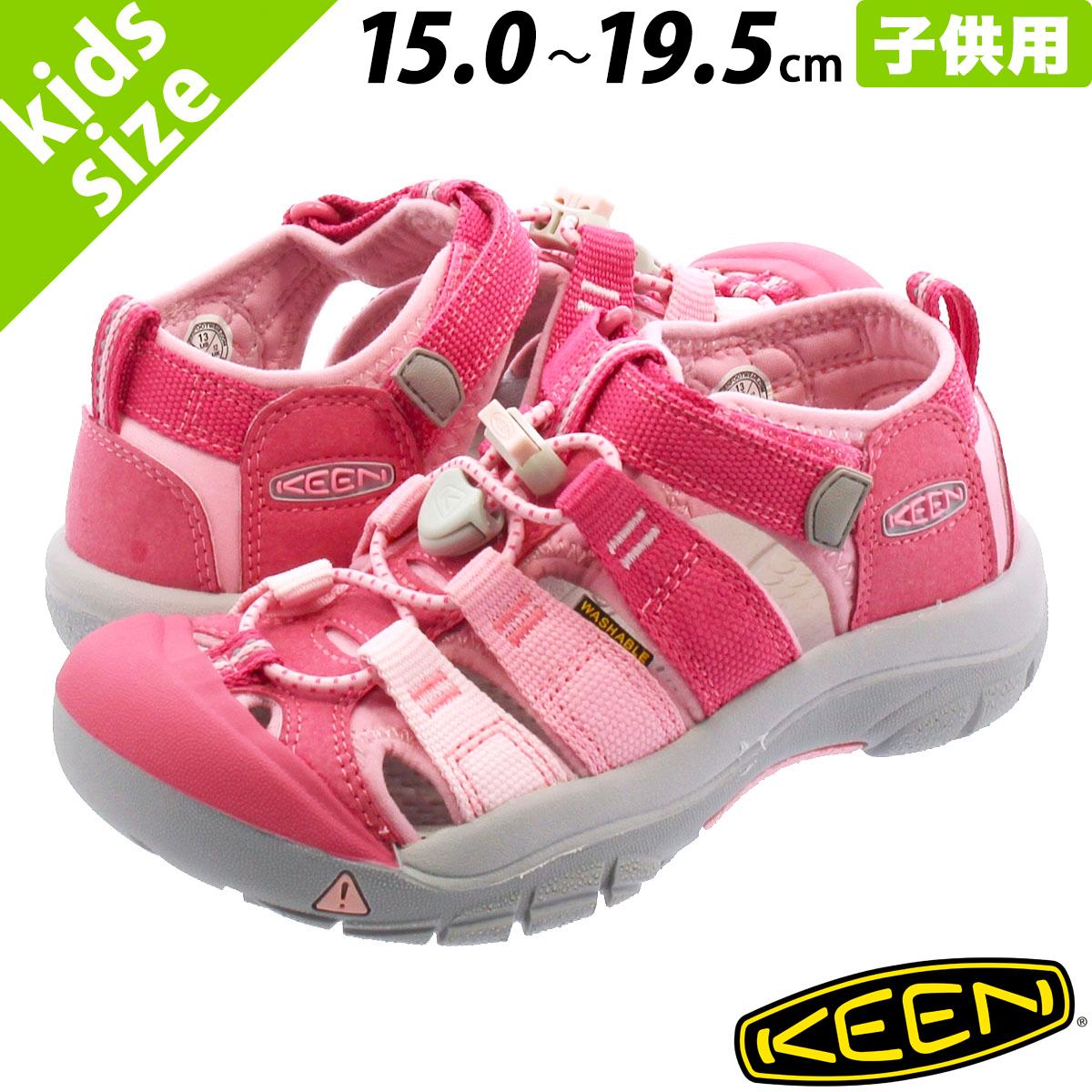 【キッズサイズ】【15.0~19.5cm】 KEEN KIDS NEWPORT H2 キーン キッズ ニューポート H2 RAPTURE ROSE/POWDER PINK 1021233