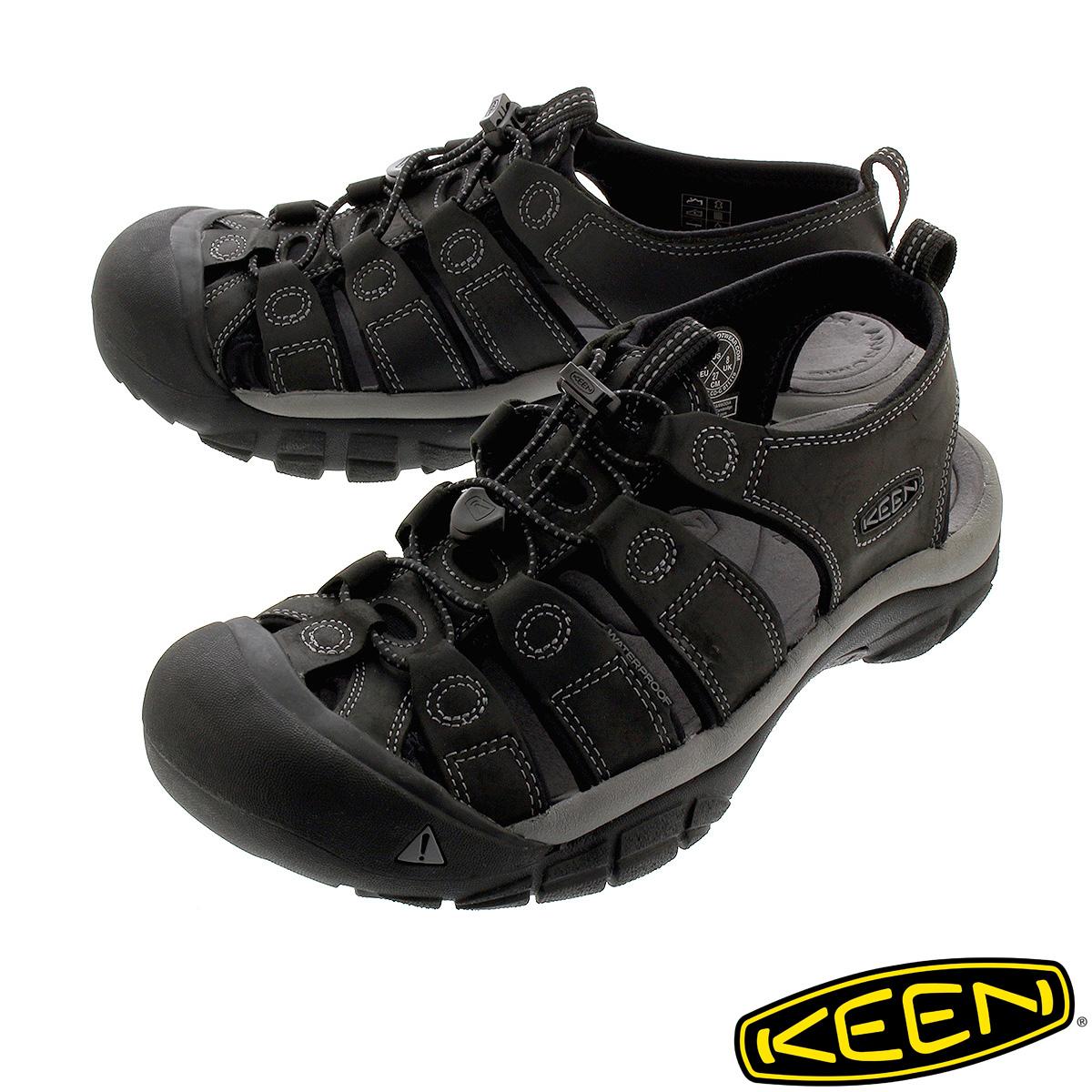 KEEN MEN NEWPORT 【メンズ】 キーン メン ニューポート BLACK/STEEL GREY 1022247