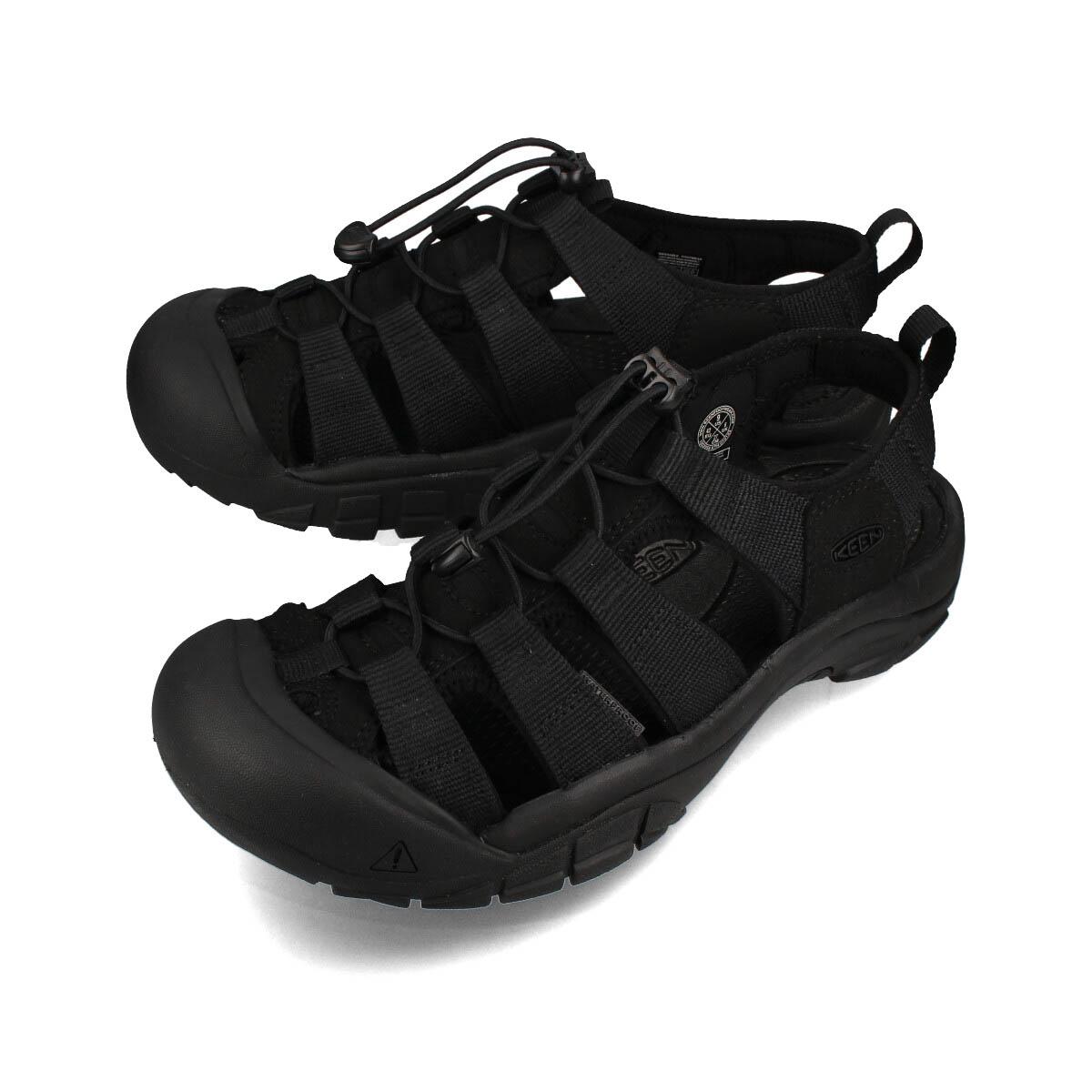 KEEN MEN NEWPORT H2 【メンズ】 キーン メン ニューポート H2 TRIPLE BLACK 1022258