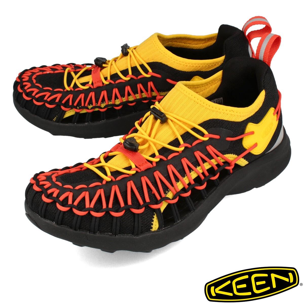 送料無料 KEEN 引出物 キーン TIMAI ティマイ スニーカー ランキングTOP10 靴 メンズ ハイキング アウトドア 登山 イエロー 黄色 1024680 SNK MEN スニーク メン B.E.A.R THE UNEEK ユニーク 水 P 3月17日 発売