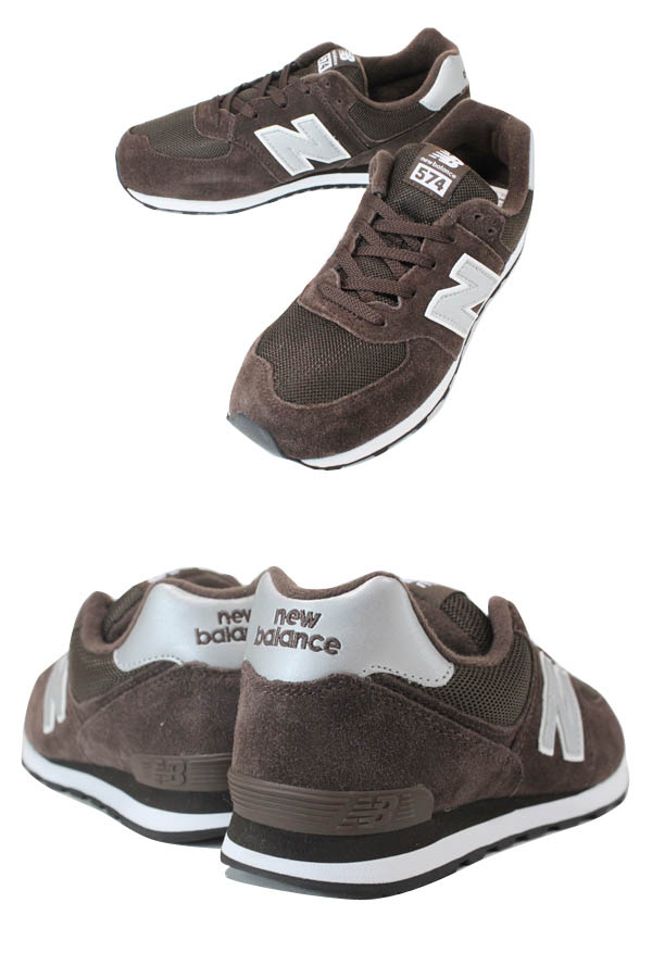 NEW BALANCE KL574CSY New Balance KL574CSY BROWN/GREY