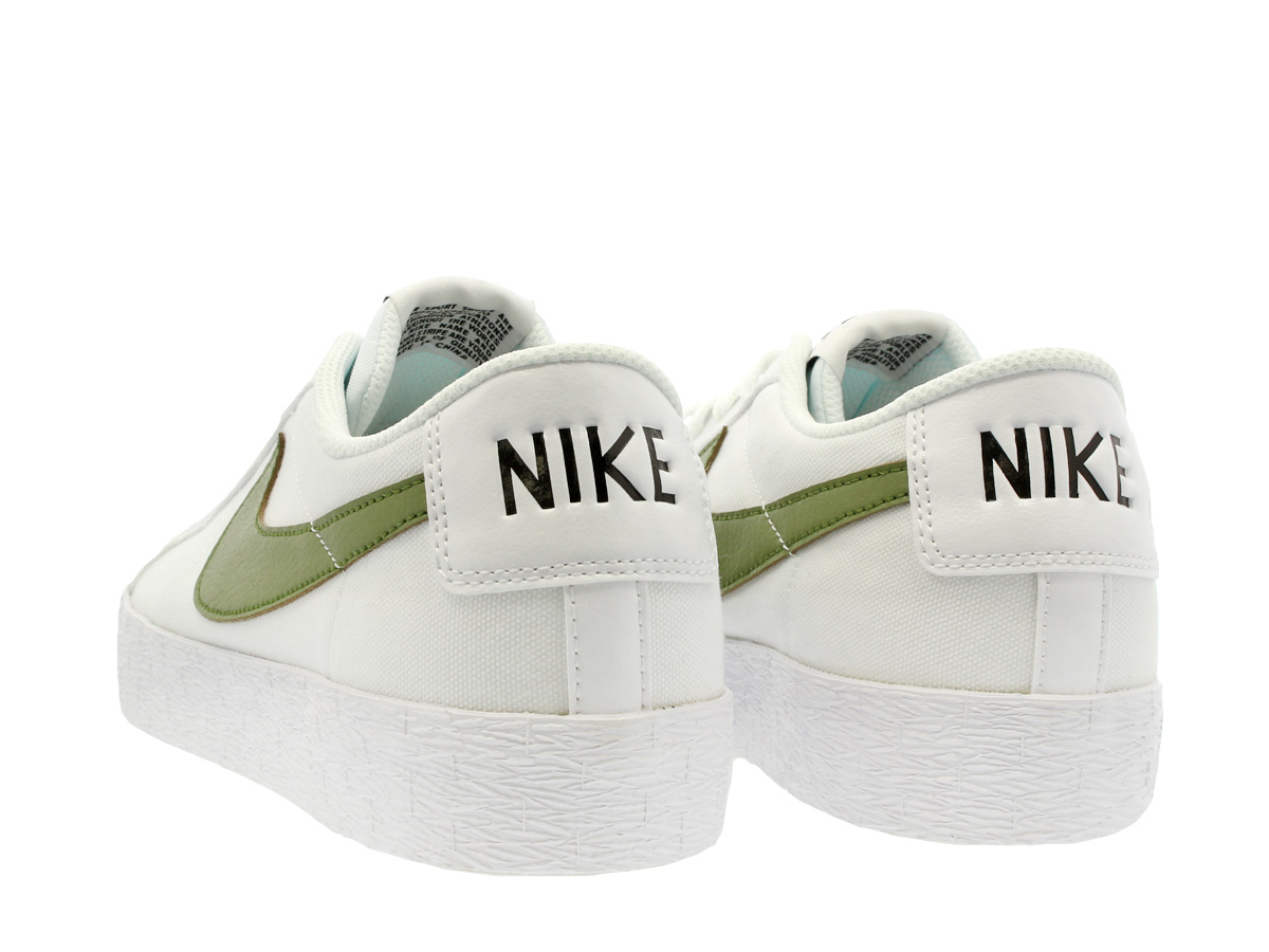 reputable site 7fc79 df8d8 ... hot white and black nike sb blazer zoom low cnvs nike sb blazer zoom  low canvas