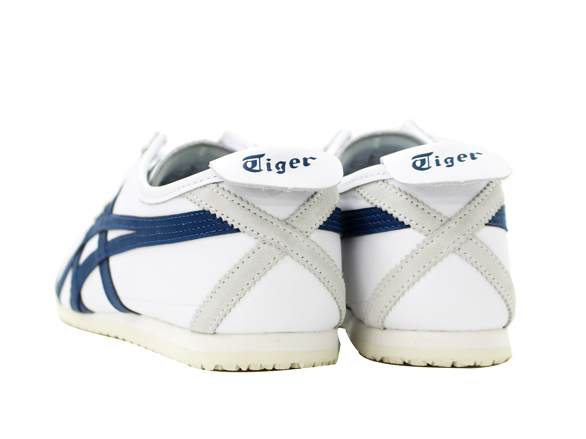 best website 625b8 78c9b Onitsuka Tiger MEXICO 66 Onitsuka tiger Mexico 66 WHITE/INK BLUE