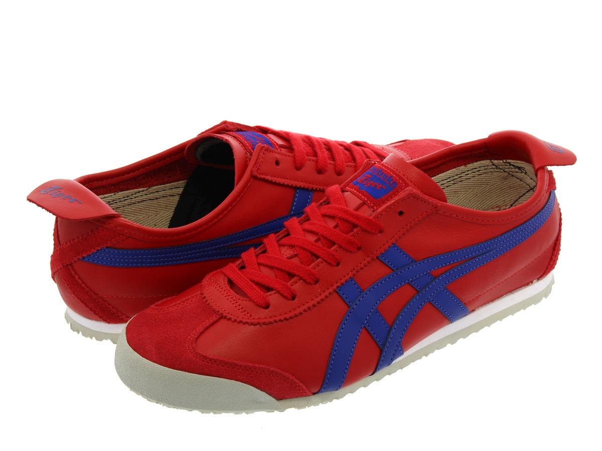 asics tiger red