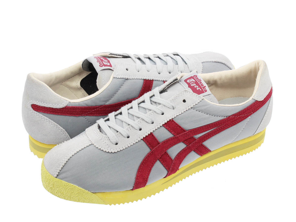 best website c883b 3379b Onitsuka Tiger TIGER CORSAIR VIN Onitsuka tiger tiger Corsair vintage  SILVER GREY/BURGUNDY