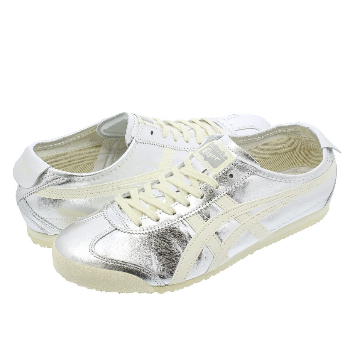 superior quality 596b7 68553 Onitsuka Tiger MEXICO 66 Onitsuka tiger Mexico 66 SILVER/WHITE