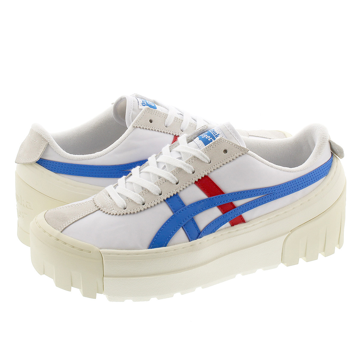 Onitsuka Tiger DELEGATION CHUNK オニツカ タイガー デレゲーション チャンク WHITE/DIRECTOIRE BLUE 1183a585-105