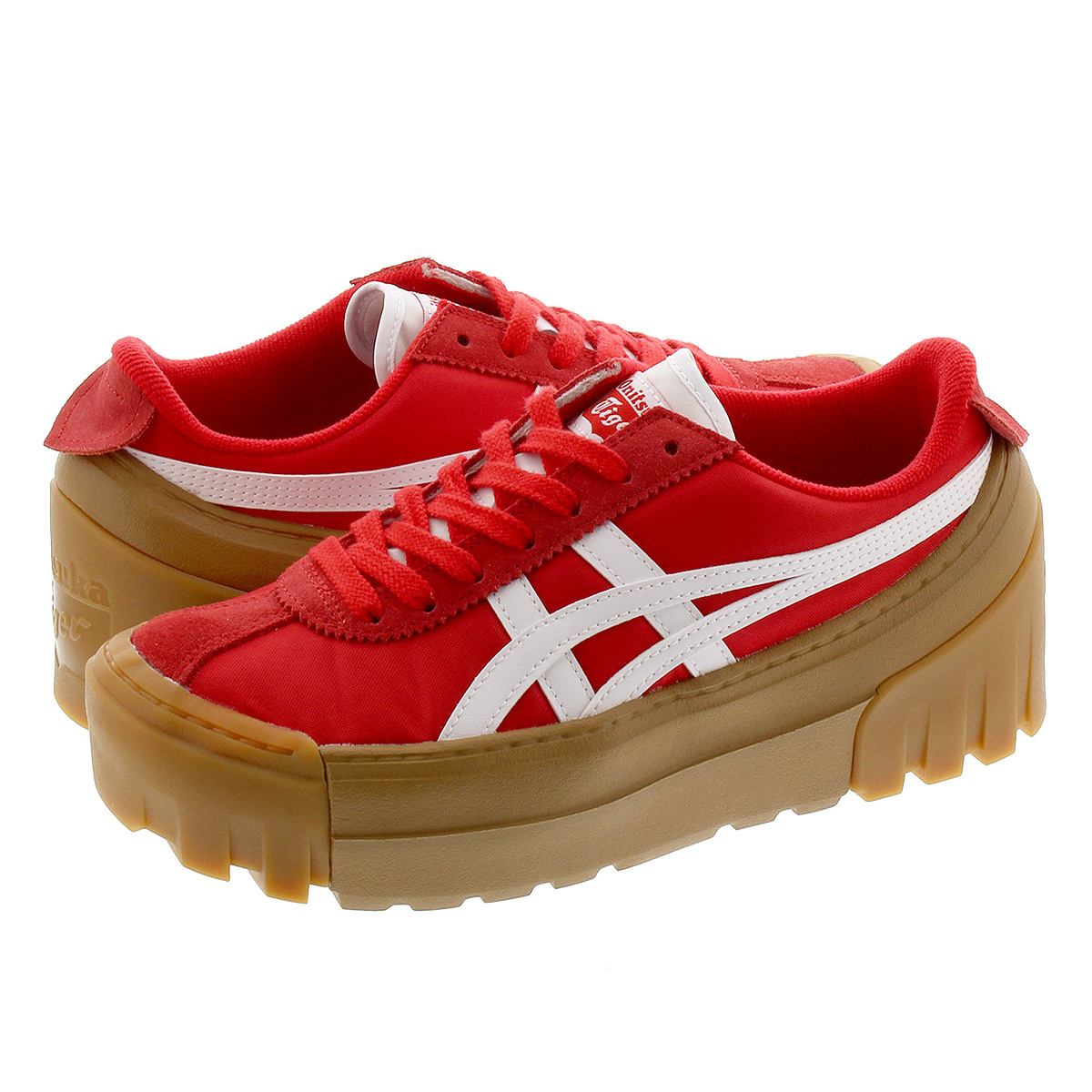 Onitsuka Tiger DELEGATION CHUNK オニツカ タイガー デレゲーション チャンク CLASSIC RED/WHITE 1183a585-602