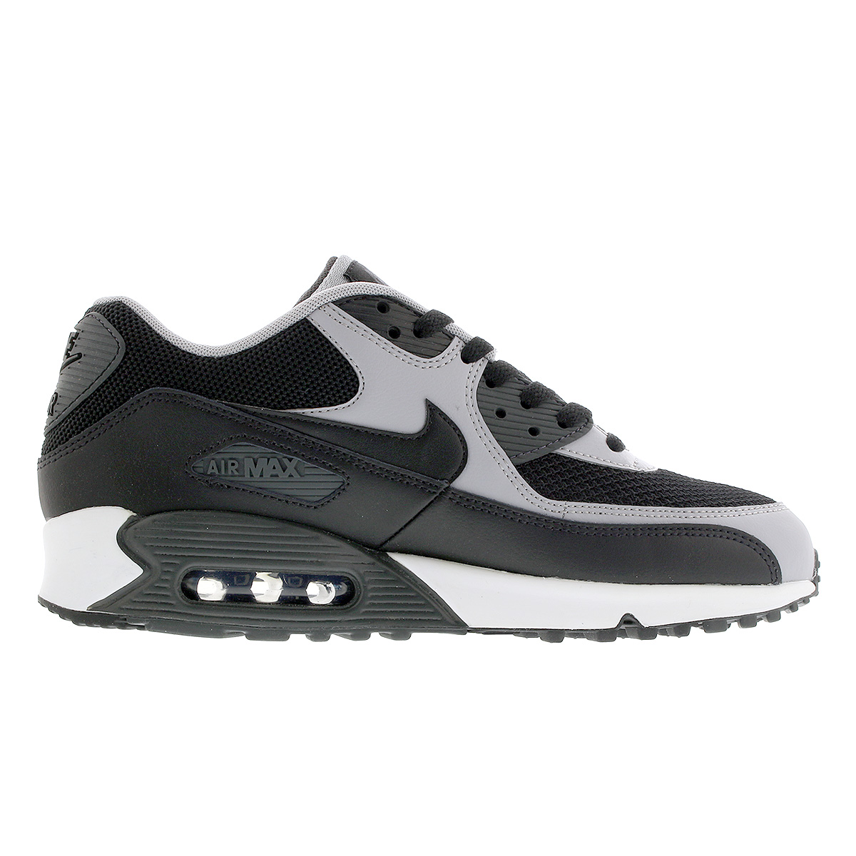 NIKE AIR MAX 90 ESSENTIAL Kie Ney AMAX 90 essential BLACKGREY 537,384 053