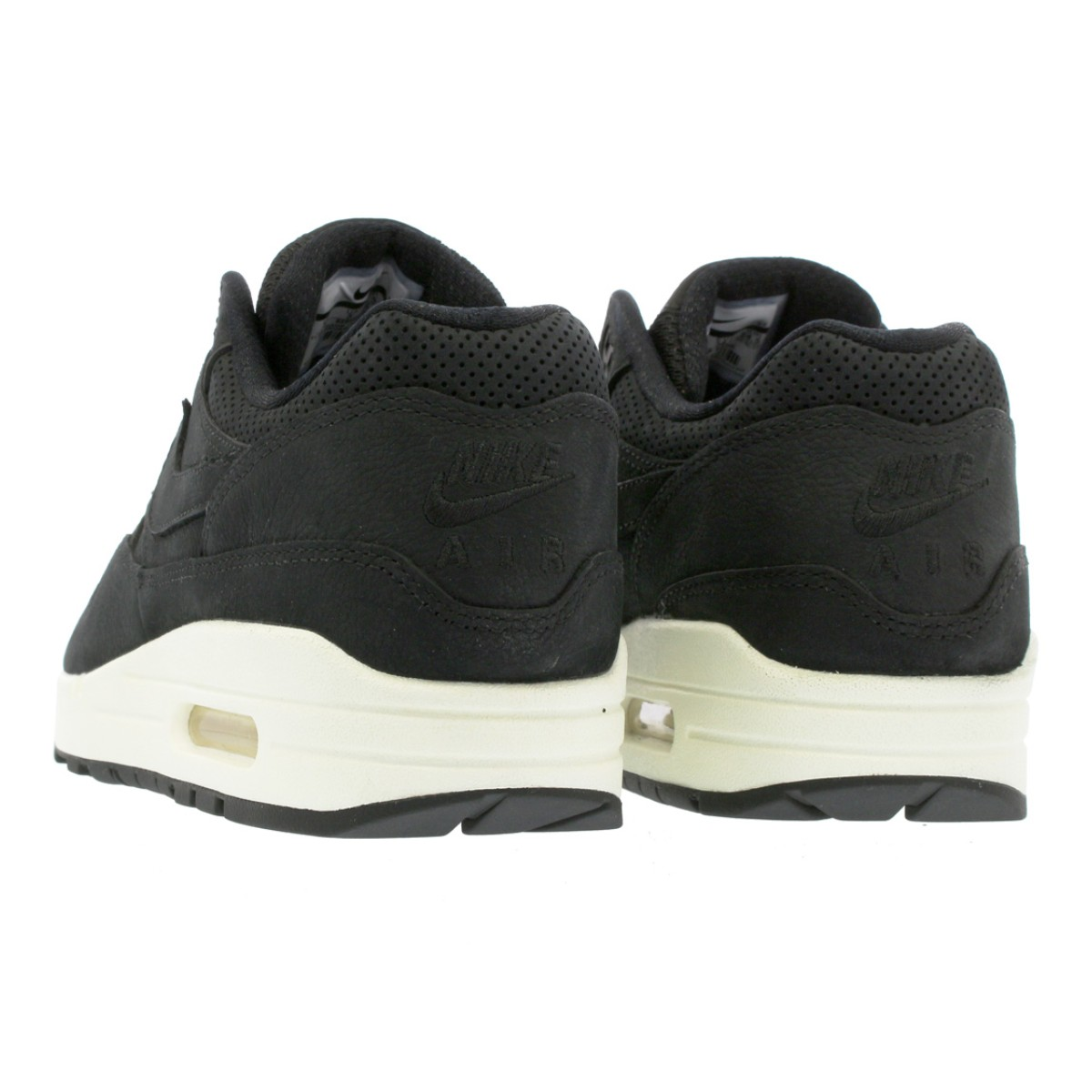 online store 85536 60a4c NIKE WMNS AIR MAX 1 PINNACLE Nike women Air Max 1 Pinnacle BLACK BLACK SAIL