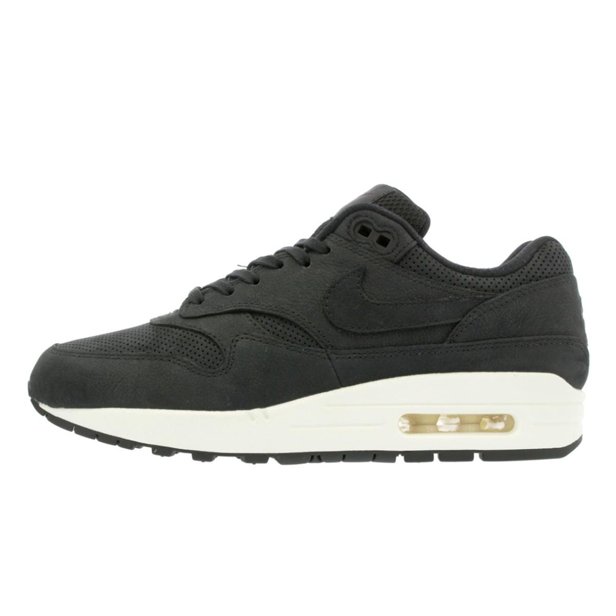 878f3558427 NIKE WMNS AIR MAX 1 PINNACLE Nike women Air Max 1 Pinnacle BLACK BLACK SAIL