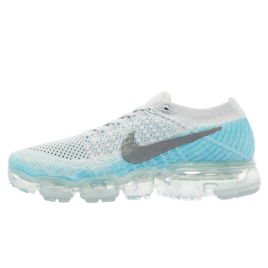 96a4e9fdd72 ... sweden nike wmns air vapormax flyknit nike women vapor max fried food  knit pure platinum metallic