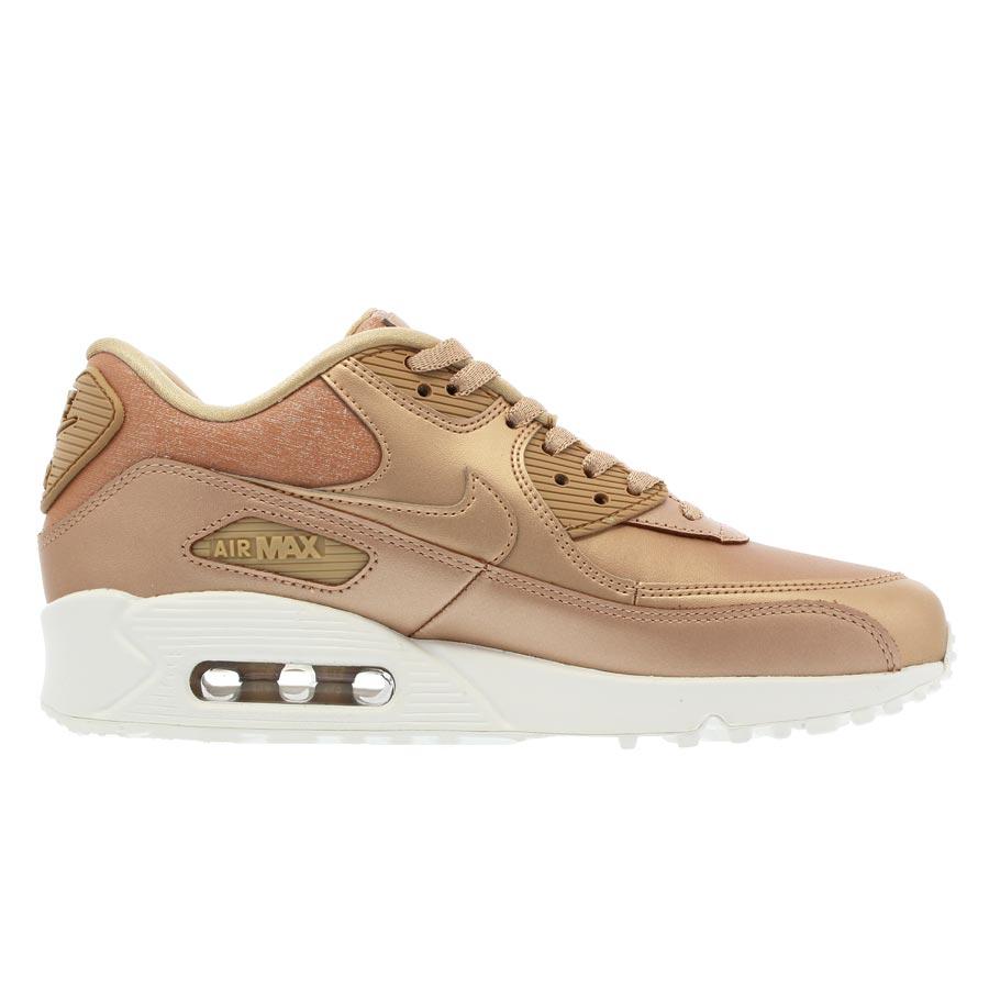 Womens Nike Air Max 90 PRM Metallic Red Bronze 896497 902