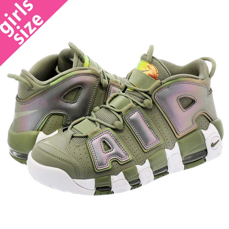 premium selection a02b8 a2168 NIKE WMNS AIR MORE UPTEMPO Nike women air more up tempo DARK STUCCO WHITE BLACK  917593-001-l