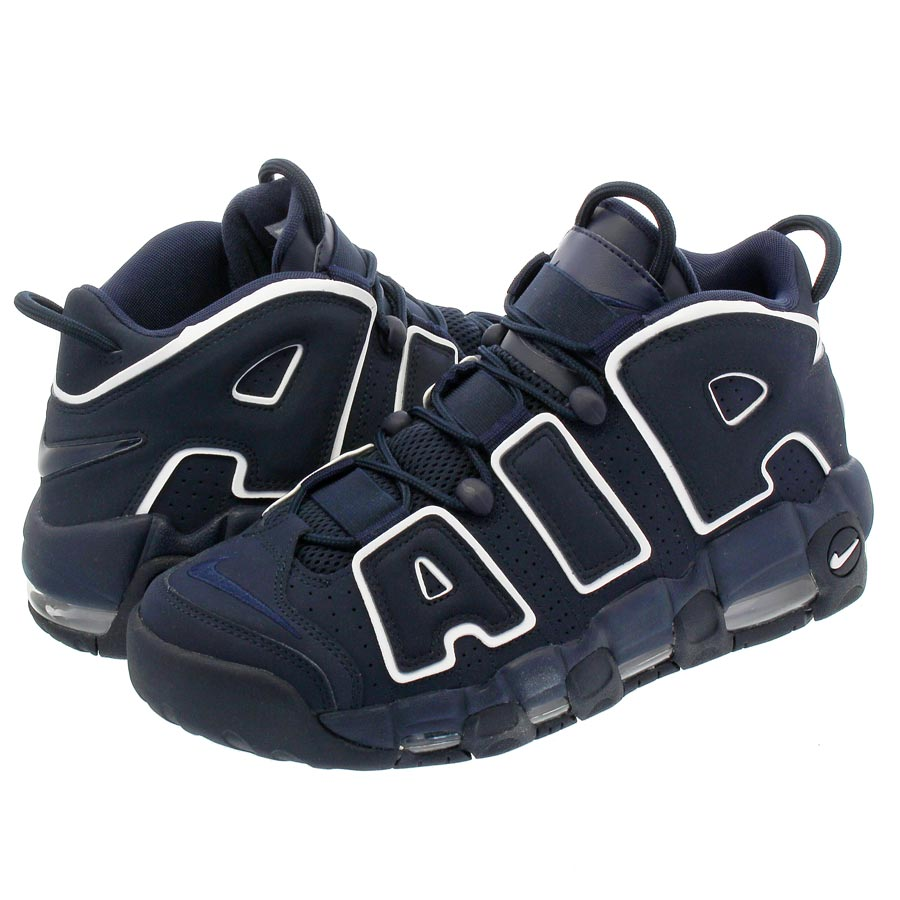 meet dbceb 73c7b NIKE AIR MORE UPTEMPO 96 Nike more up tempo 96 OBSIDIANOBSIDIANWHITE