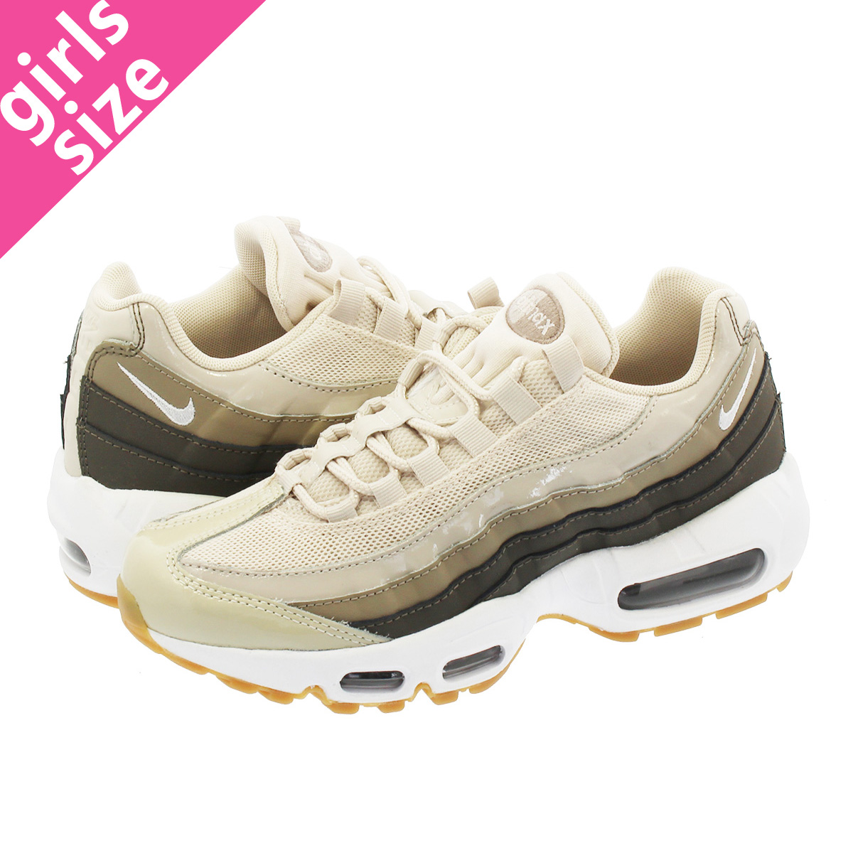 182e186fb3 Categories. « All Categories · Shoes · Women's Shoes · Sneakers · NIKE WMNS AIR  MAX 95 Nike women Air Max 95 DESERT SAND/MOON PARTICLE SEPIA
