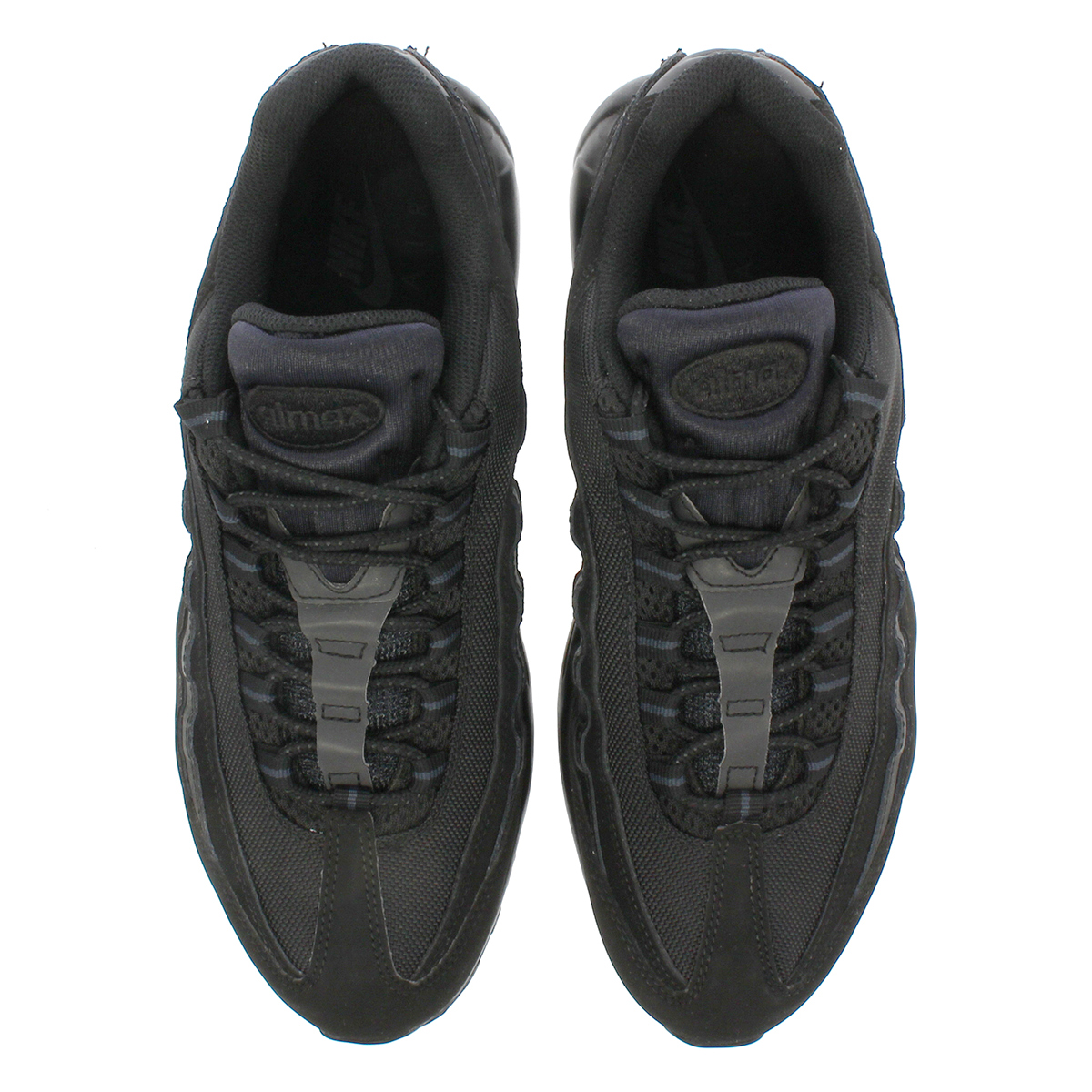 LOWTEX BIG-SMALL SHOP  NIKE AIR MAX 95 TRIPLE BLACK Kie Ney AMAX 95 ... 39296ba9a