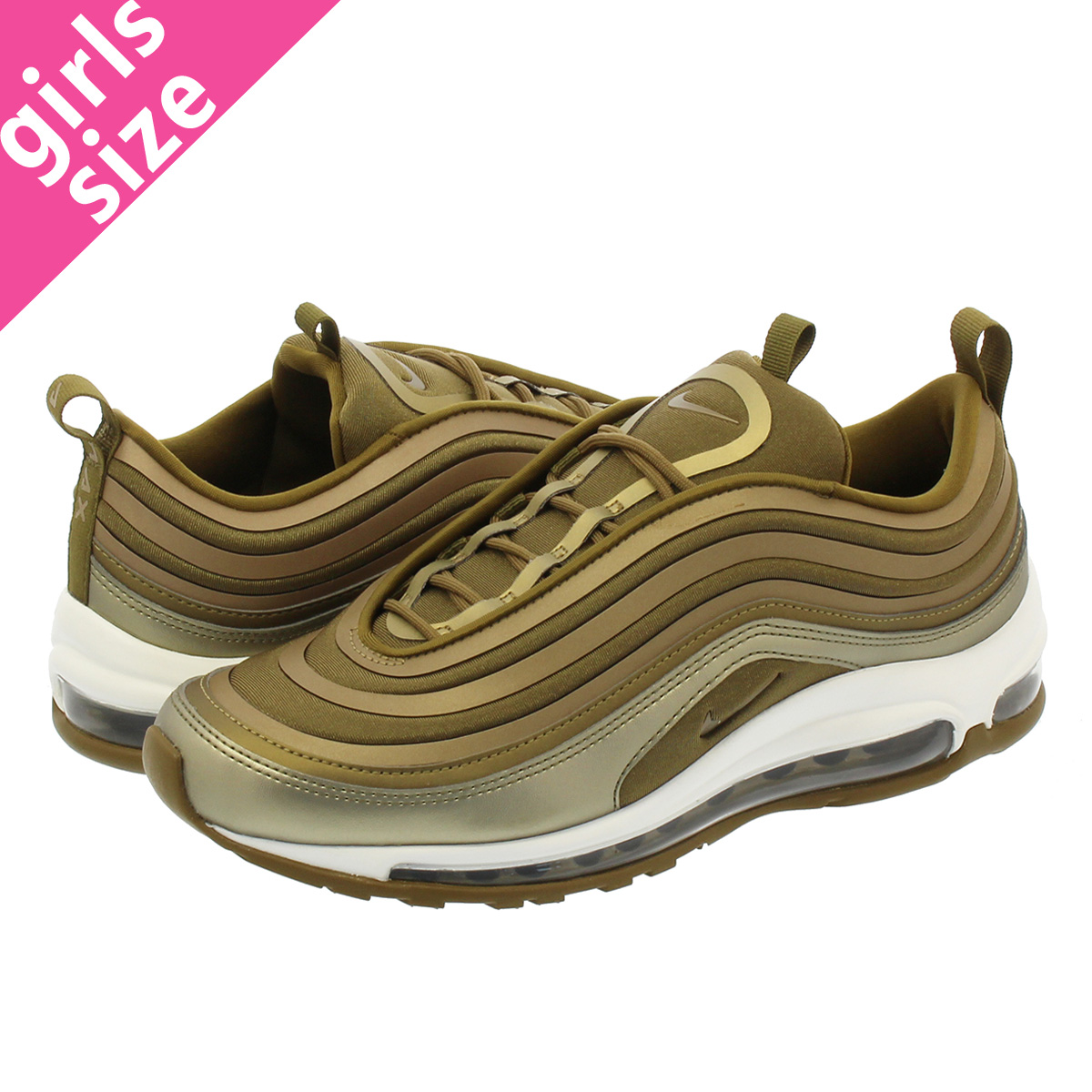 9679352b6d Categories. « All Categories · Shoes · Women's Shoes · Sneakers · NIKE WMNS  AIR MAX 97 UL '17 Nike women Air Max ultra '17 METALLIC