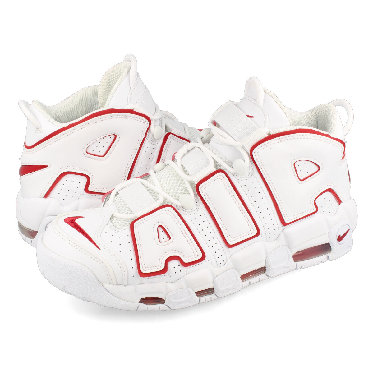 free shipping 6f911 09a8f NIKE AIR MORE UPTEMPO 96 Nike more up tempo 96 WHITEVARSITY REDWHITE