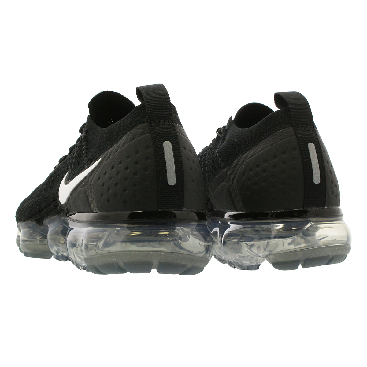 669763611a836 NIKE WMNS AIR VAPORMAX FLYKNIT 2 Nike women vapor max fried food knit  BLACK/WHITE/DARK GREY/METALLIC SILVER 942,843-001