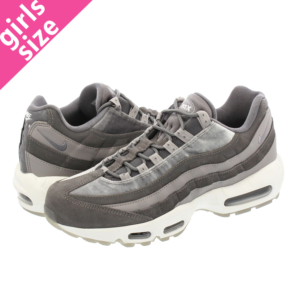 best sneakers b4ff1 b893f NIKE WMNS AIR MAX 95 Nike women Air Max 95 LX GUNSMOKE/GUNSMOKE/ATMOSPHERE  GREY aa1103-003-l