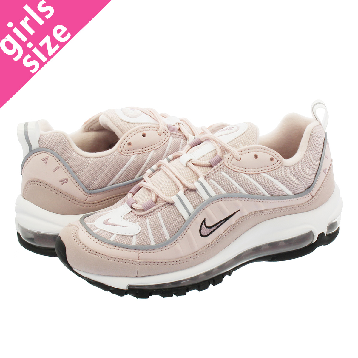 NIKE WMNS AIR MAX 98 Nike women Air Max 98 BARELY ROSEELEMENTAL ROSEPARTICLE ROSE ah6799 600 l