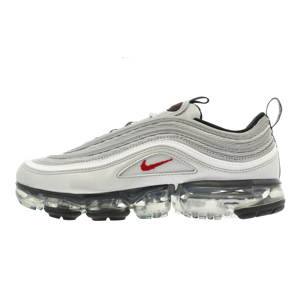 new style a5a3b 78d3a NIKE AIR VAPORMAX 97 Nike air vapor max 97 METALLIC SILVER/VARSITY  RED/WHITE/BLACK aj7291-002-l