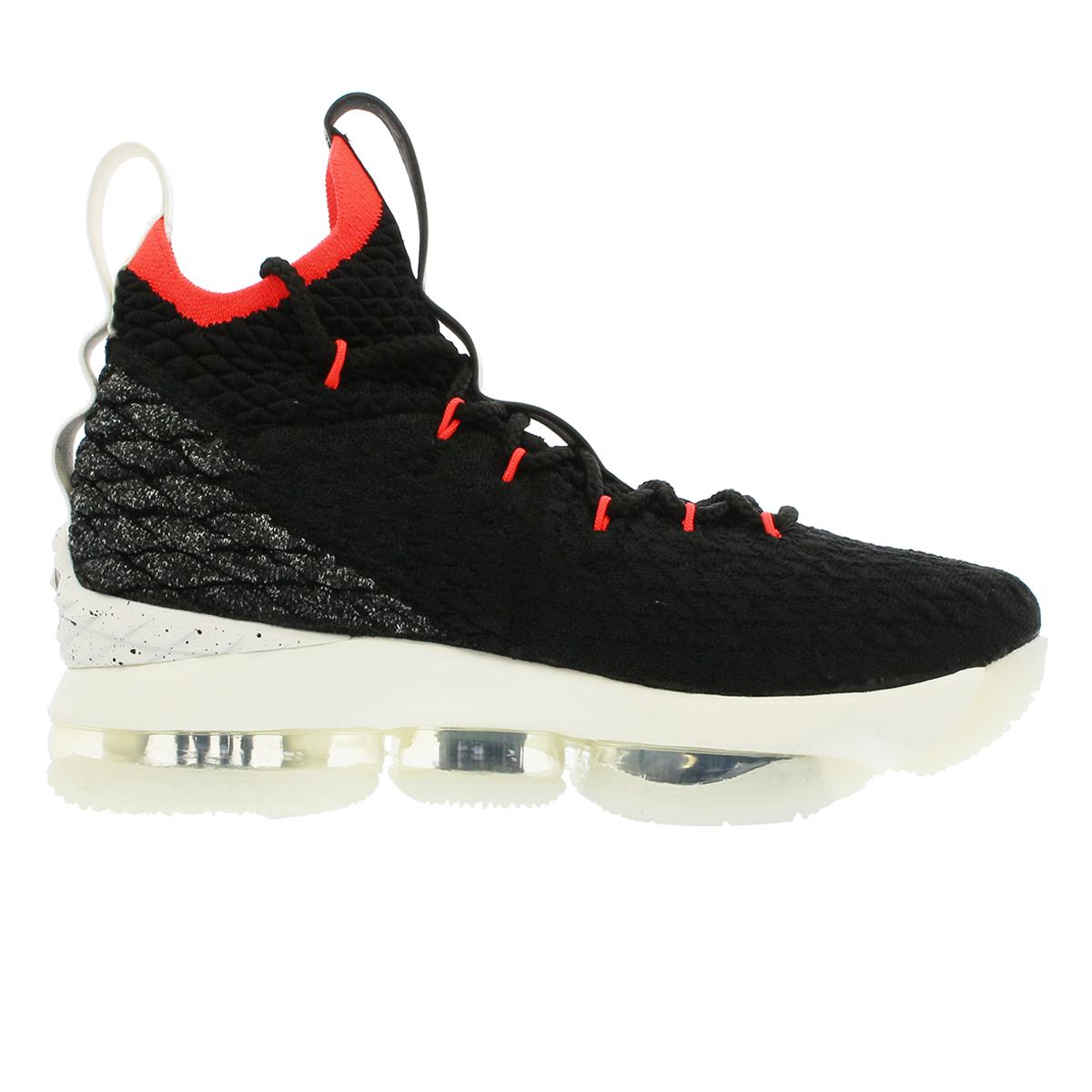 pretty nice a1ea4 6e2f6 ... NIKE LEBRON 15 GS Nike Revlon 15 GS BLACK SAIL BRIGHT CRIMSON aq6176-  ...