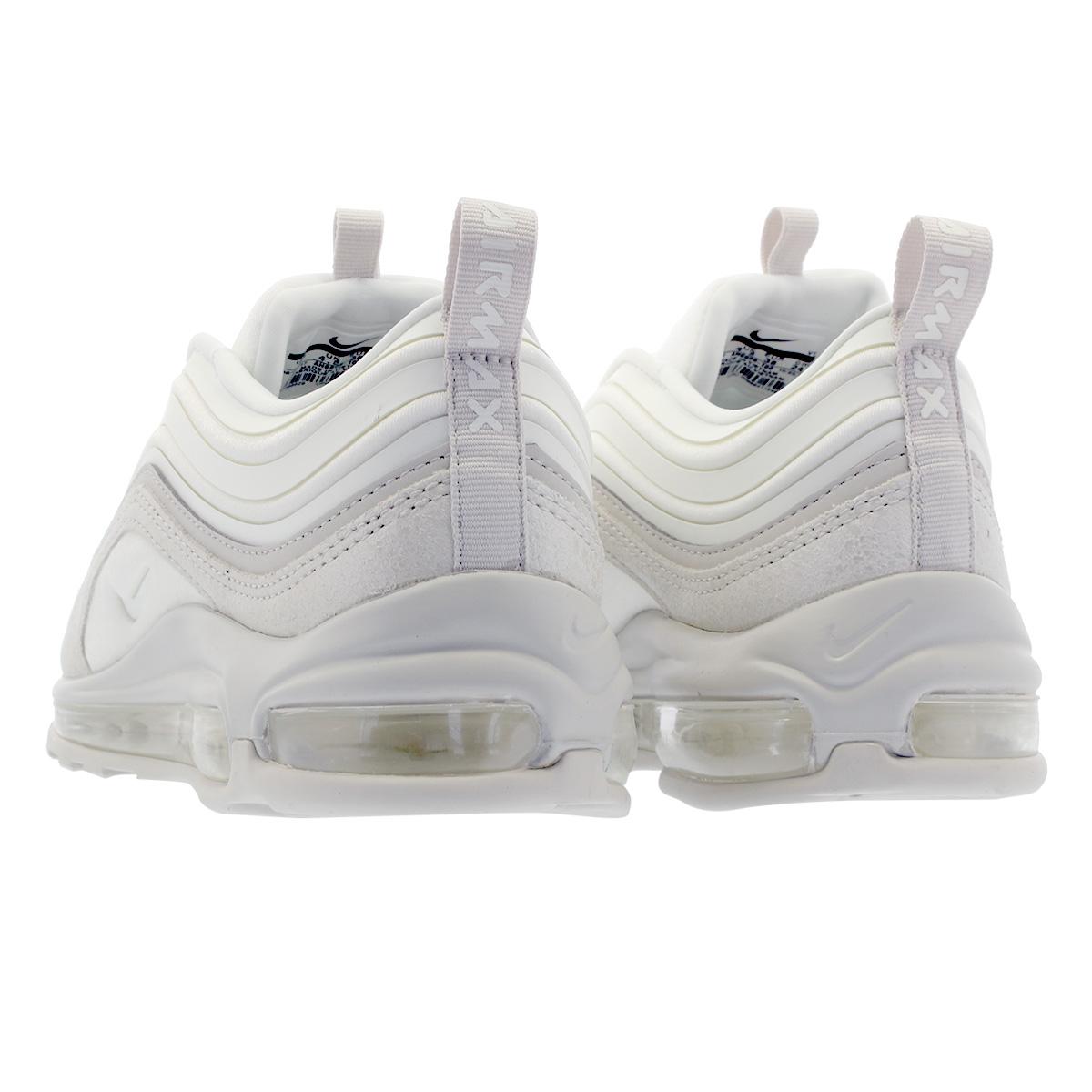 NIKE WMNS AIR MAX 97 UL '17 SE Nike women Air Max ultra '17 SUMMIT WHITEMETALLIC SUMMIT WHITELIGHT BONE ah6806 100