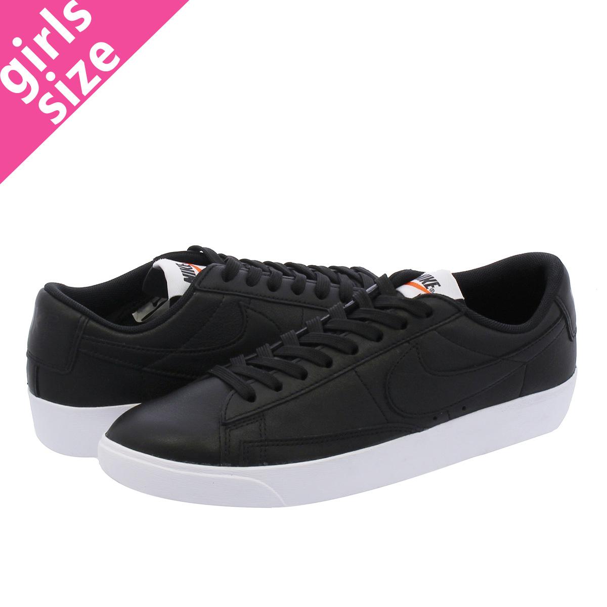 new styles 2bff9 43886 NIKE WMNS BLAZER LOW LE Nike women blazer low LE BLACK/WHITE av9370-001