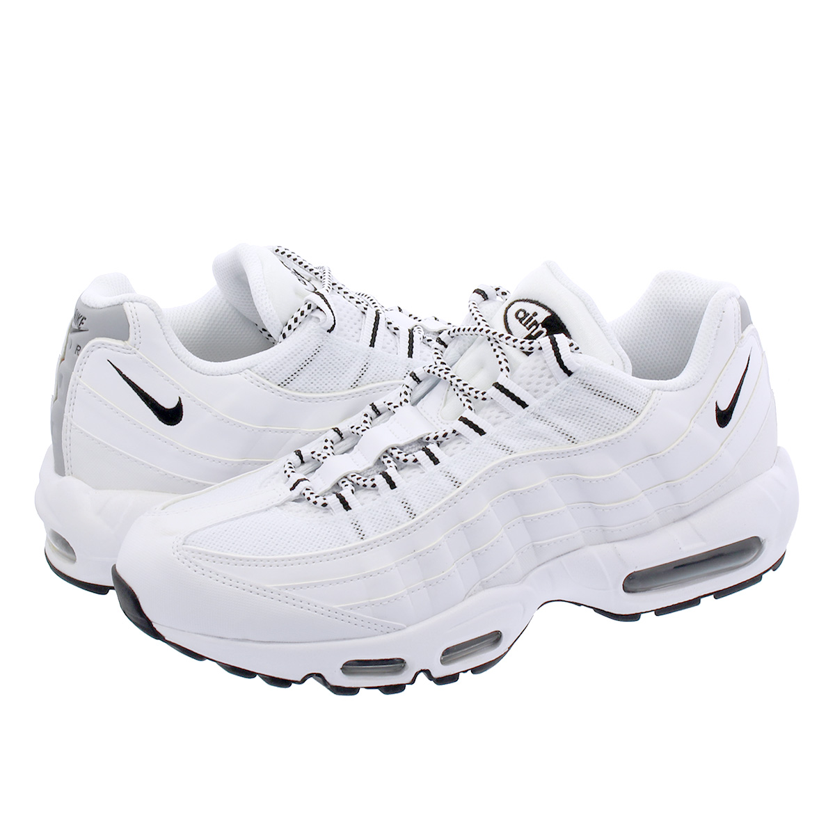 brand new 7f7ed dc5cd NIKE AIR MAX 95 Nike Air Max 95 WHITE BLACK