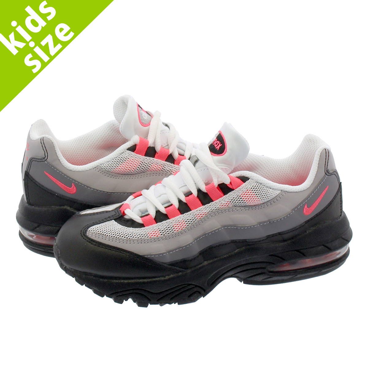 0b781f33dc LOWTEX BIG-SMALL SHOP: NIKE AIR MAX 95 PS Kie Ney AMAX SE PS BLACK/SOLAR  RED GUNSMOKE | Rakuten Global Market