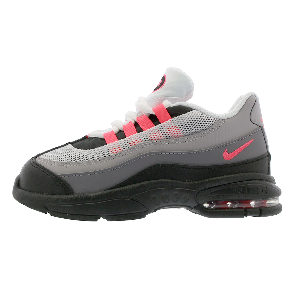 LOWTEX BIG-SMALL SHOP  NIKE AIR MAX 95 TD Kie Ney AMAX 95 TD BLACK ... 28cd3a469