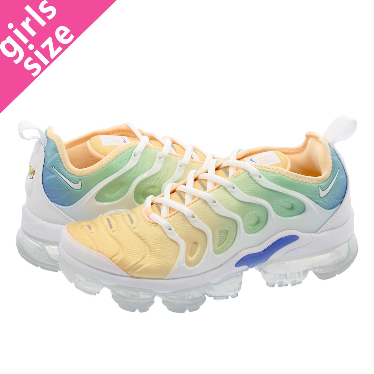 773828a92a2 NIKE WMNS AIR VAPORMAX PLUS Nike women air vapor max plus WHITE WHITE LIGHT  MENTA TANGER ao4550-100