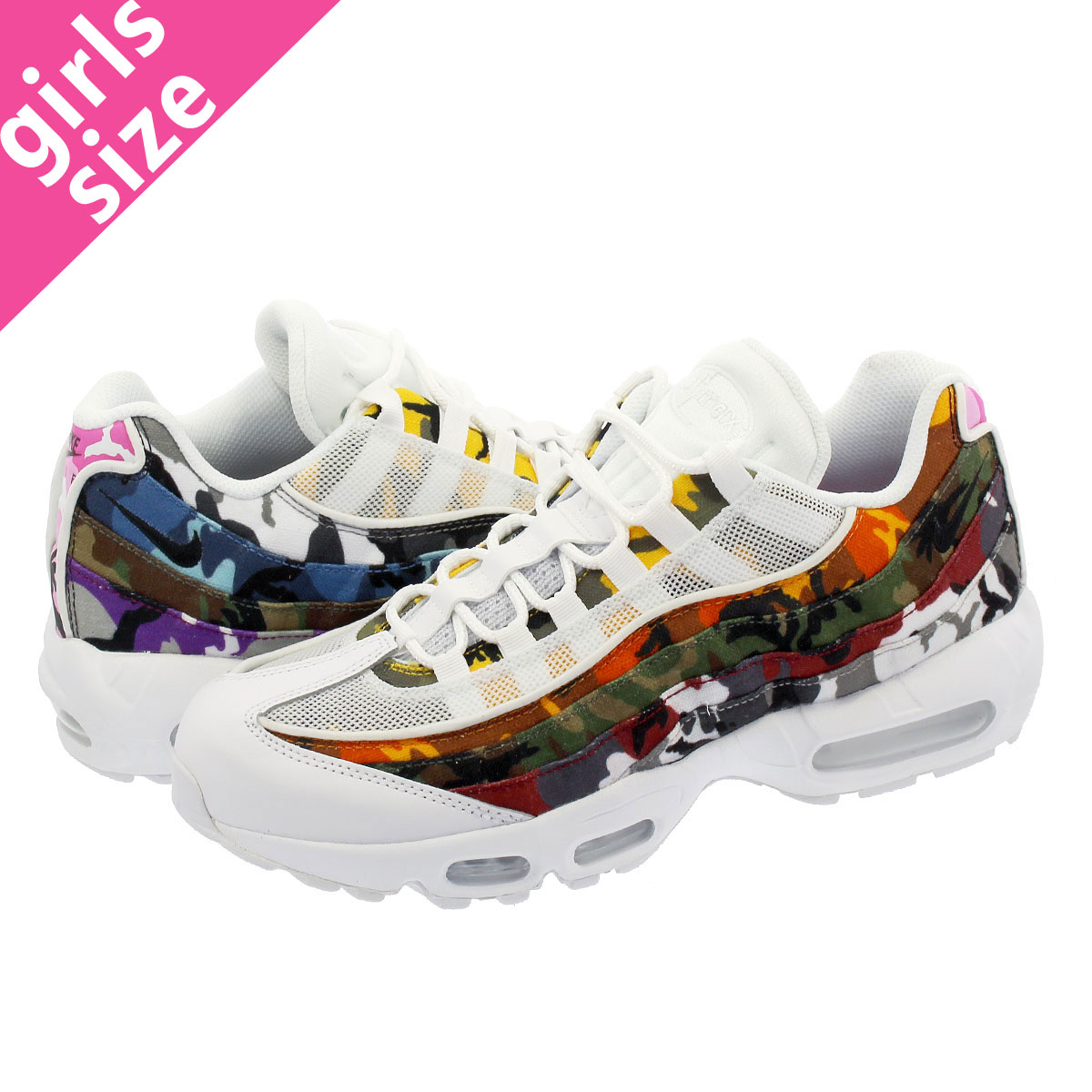 NIKE AIR MAX 95 ERDL PARTY ナイキ エア マックス 95 WHITE/MULTI CAMO ar4473-100