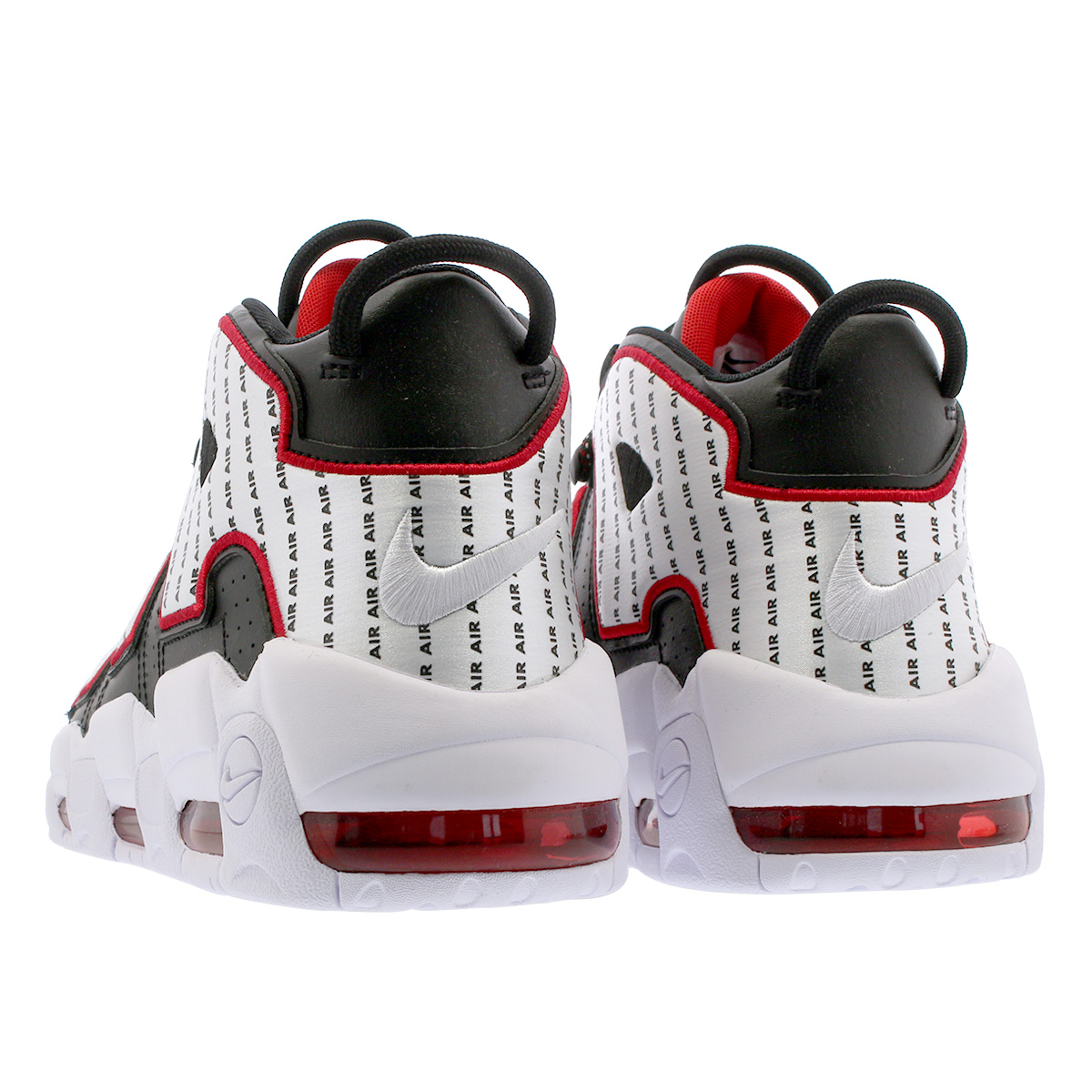 outlet store 77605 75dbd NIKE AIR MORE UPTEMPO 96 Nike air more up tempo 96 BLACK WHITE UNIVERSITY  RED av7947-001