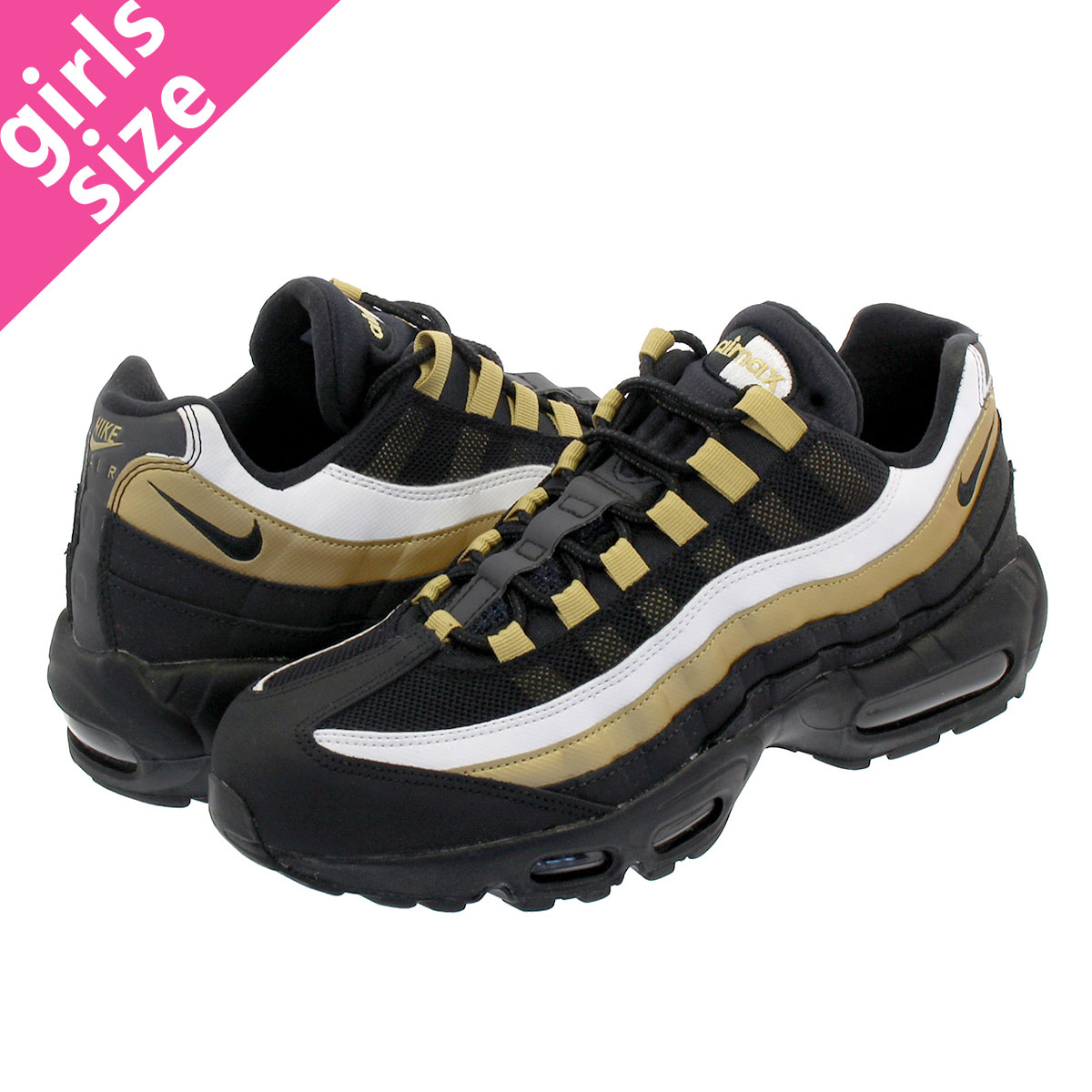 premium selection 82951 bed07 NIKE AIR MAX 95 OG Kie Ney AMAX 95 OG BLACKMETALLIC GOLD at2865-002