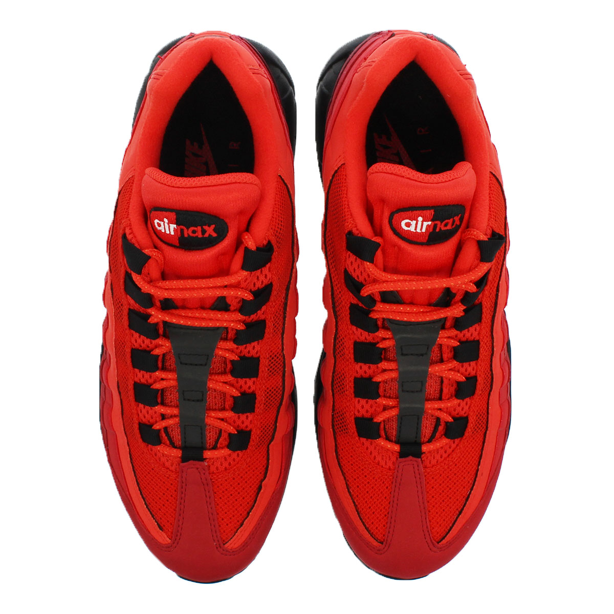 sale retailer 00519 34893 NIKE AIR MAX 95 OG Kie Ney AMAX 95 OG HABANERO RED WHITE UNIVERSITY RED GYM  RED TEAM RED BLACK at2865-600