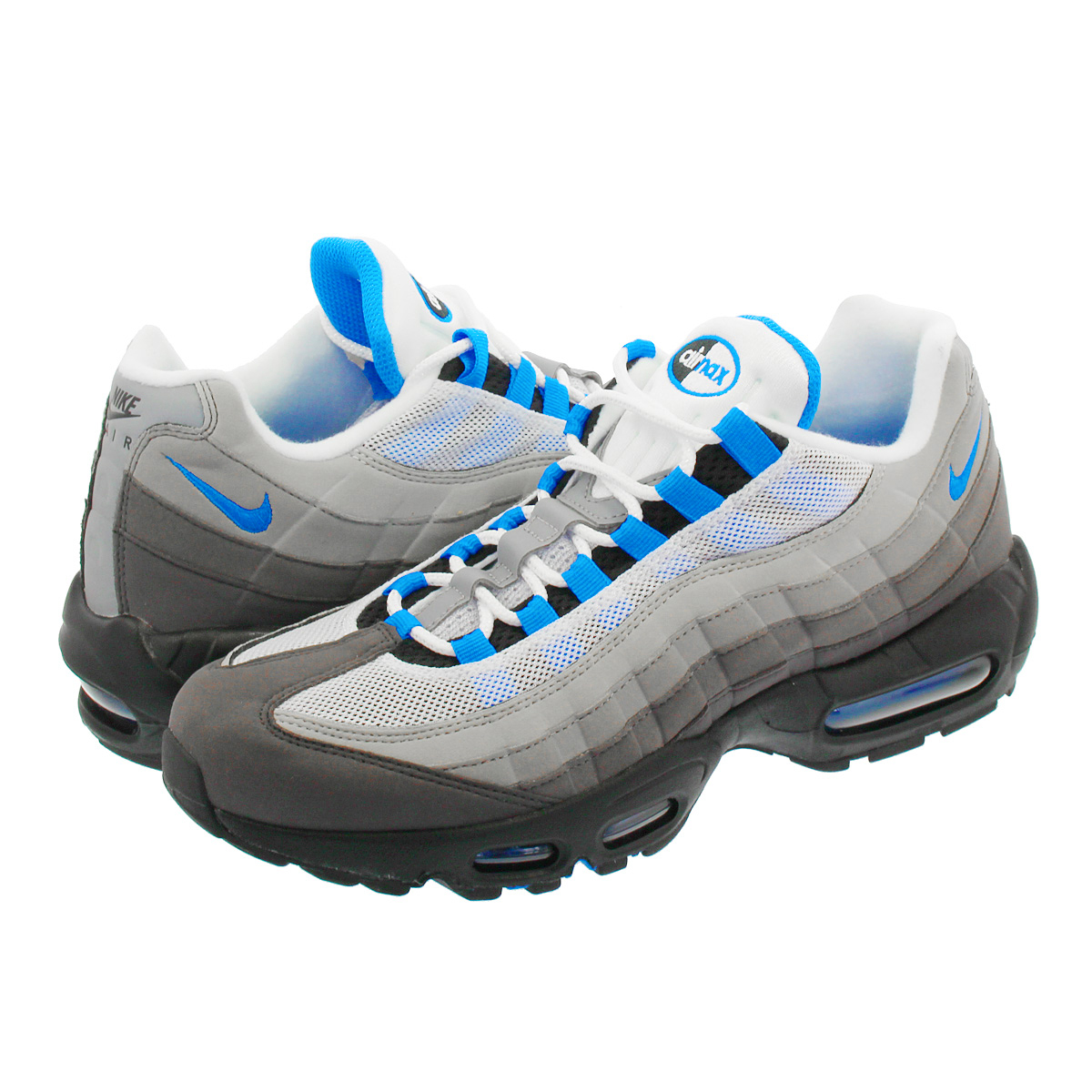 aa8cb436c1 Categories. « All Categories · Shoes · Men's Shoes · Sneakers · NIKE AIR  MAX 95 Kie Ney AMAX 95 WHITE/CRYSTAL BLUE at8696-100