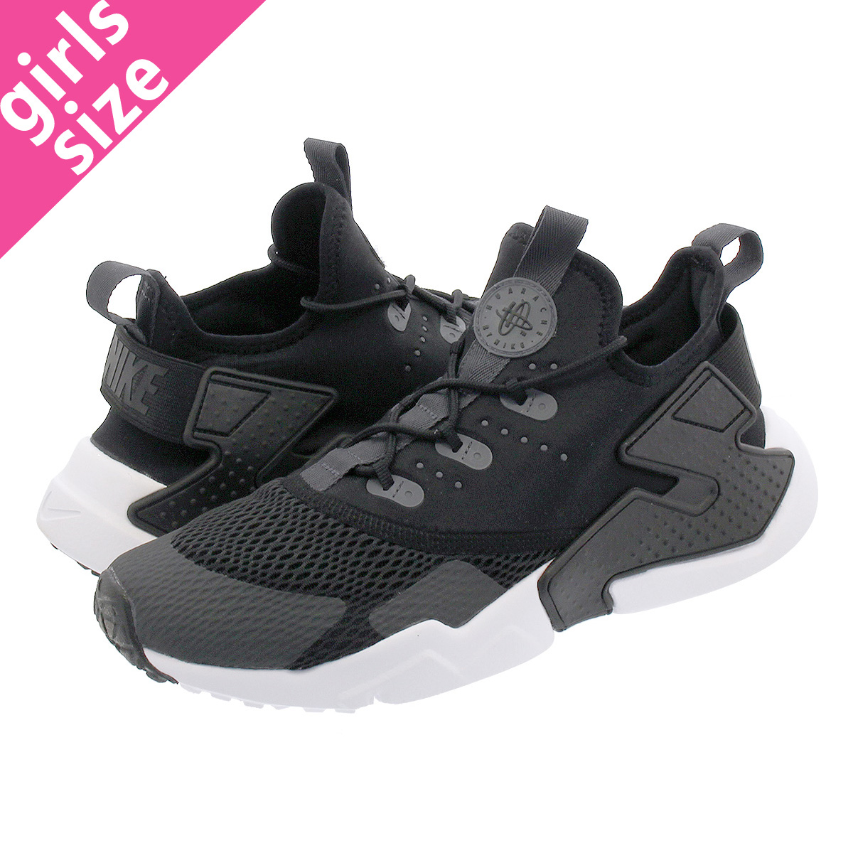 78d7827f88 NIKE AIR HUARACHE DRIFT GS ナイキハラチドリフト GS BLACK/ANTHRACITE/ANTHRACITE  943,344- ...
