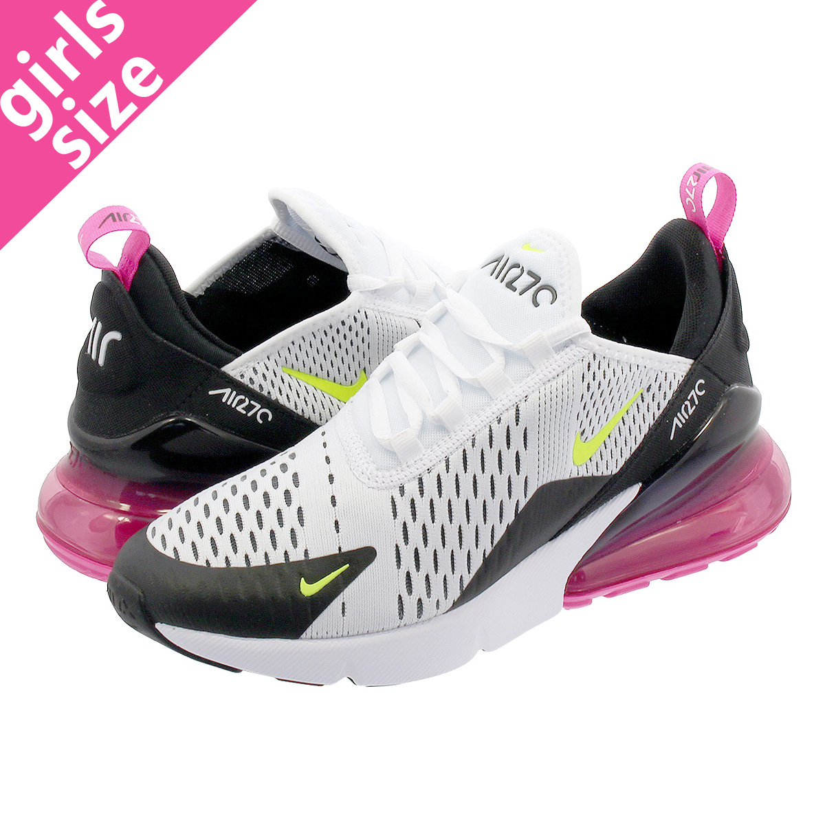 NIKE AIR MAX 270 GS</p>                     </div> 		  <!--bof Product URL --> 										<!--eof Product URL --> 					<!--bof Quantity Discounts table --> 											<!--eof Quantity Discounts table --> 				</div> 				                       			</dd> 						<dt class=